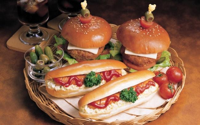 Гамбургеры и хот-доги