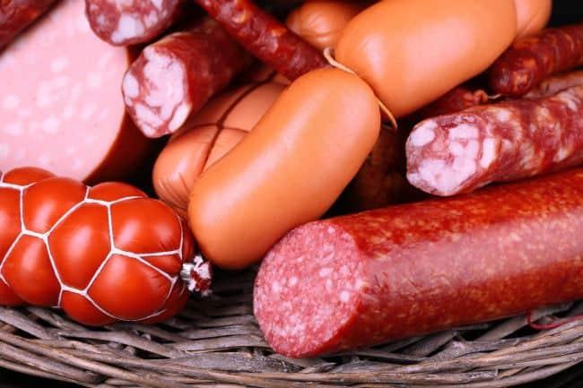 Колбасы и сосиски
