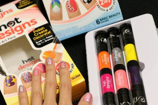 Лаки-маркеры для ногтей