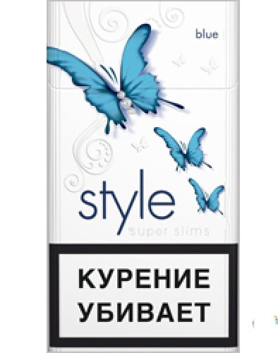 STYLE Super Slims Blue