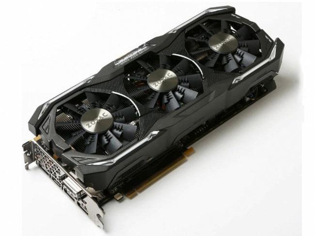 Zotac GeForce GTX 1070 АМР! Extreme