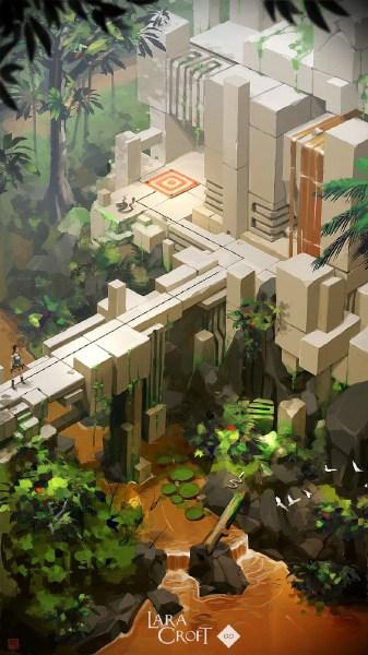 Lara Croft GO от Square Enix