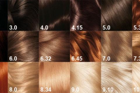 краски, волосы