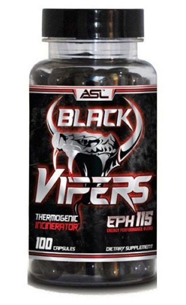 Anabolic Science Labs Black Vipers