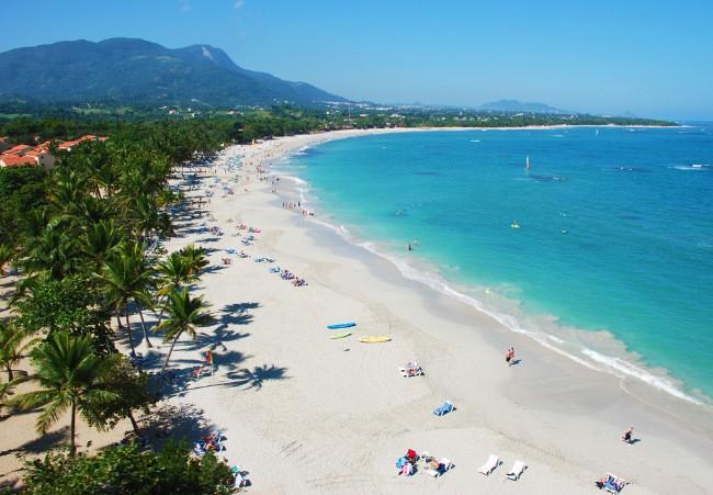 Пляжи курорта Плайя Дорадо