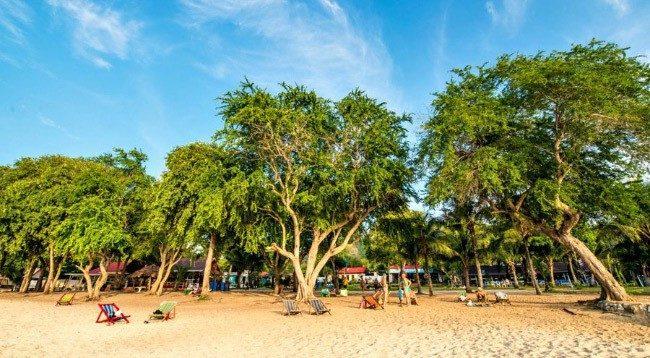 Военный пляж Сай Кео