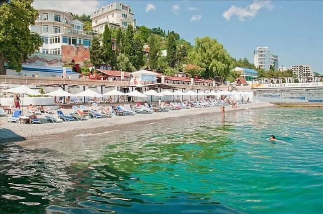 Массандровский пляж крым