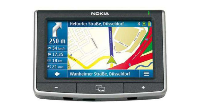 Nokia 500 Auto Nav Bluetooth