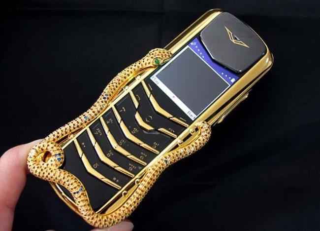 Vertu Boucheron Cobra телефон