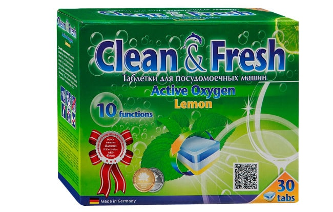 Clean & Fresh Active Oxygen Lemon
