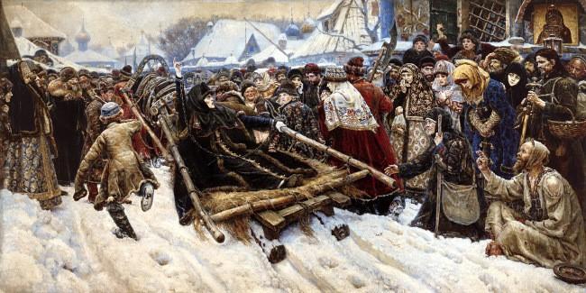 Боярыня Морозова картина