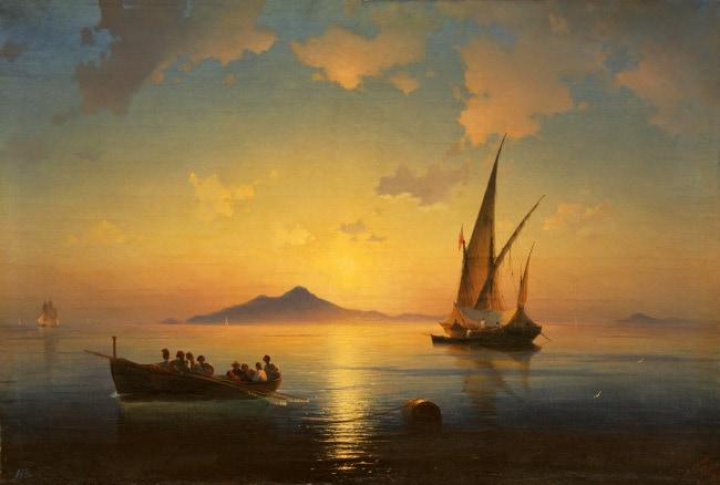 Неаполитанский залив айвазовский