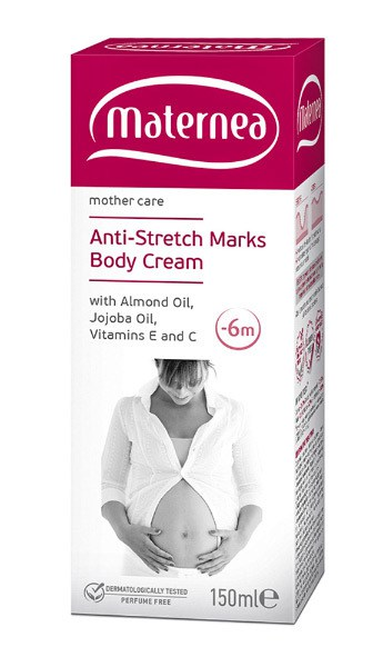 Maternea Anti-Stretch Marks Body Cream от растяжек
