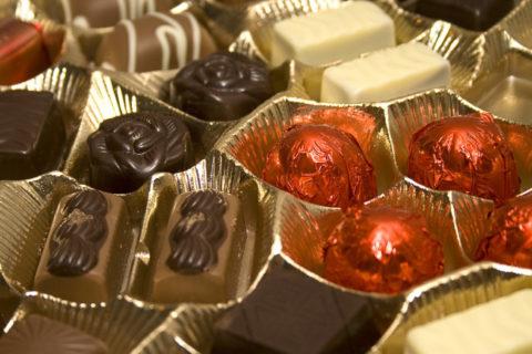 Самые вкусные конфеты в России