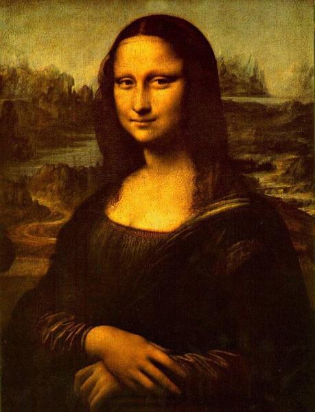 Мона Лиза да винчи