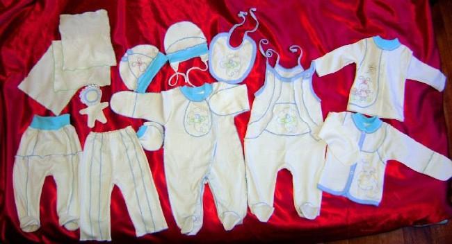 одежда для новорождленных