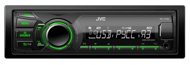 JVC KD-X150EE магнитола