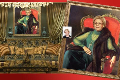 Портрет именинницы