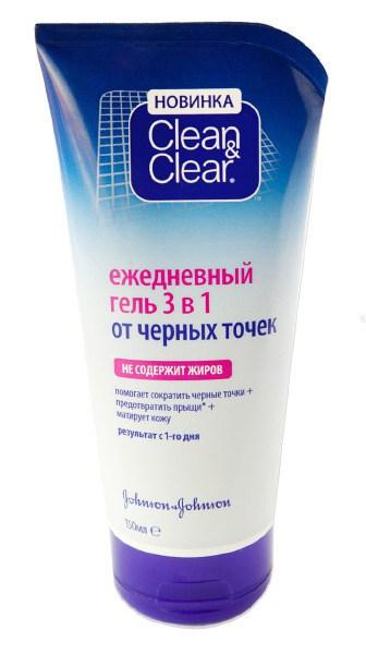 Clean & Clear Гель-маска 2 в 1 от черных точек