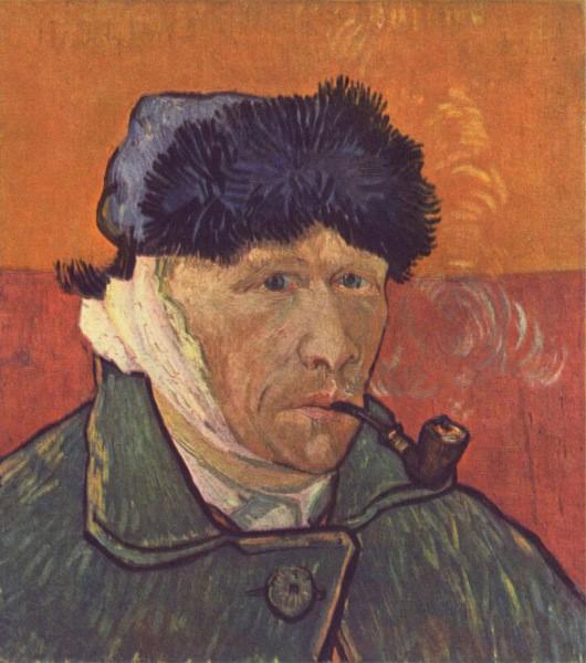 Автопортрет с перевязанным ухом ван гог