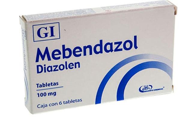 Мебендазол от паразитов