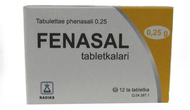 Фенасал от паразитов