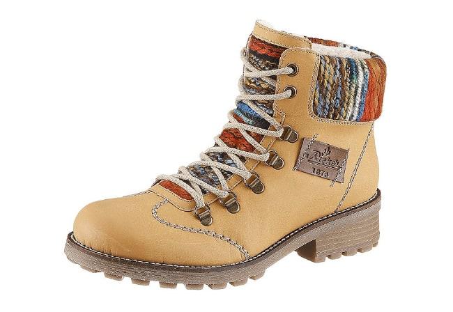 Rieker ботинки