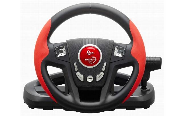 Автомобильный руль с компьютерным управлением