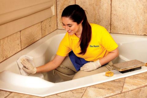 средства для чистки ванны