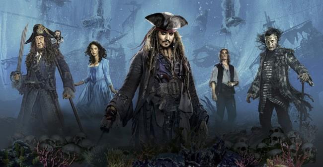 Пираты Карибского моря: Мертвецы не рассказывают сказки фильм