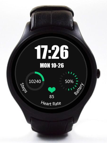 No.1 D5 на Android 4.4 часы