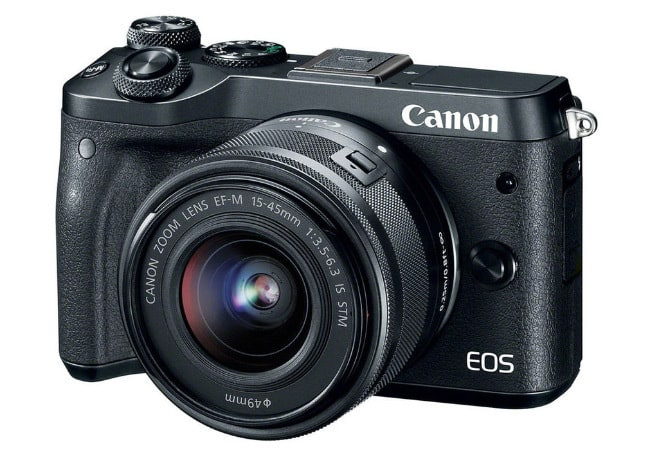 Canon EOS M6 фотоаппарат