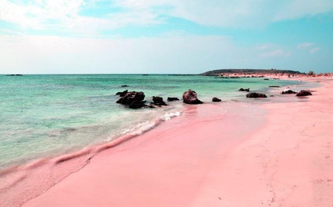 Пинк-Сэнд-Бич пляж