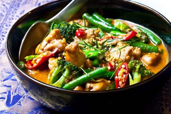 Пананг Гай блюдо