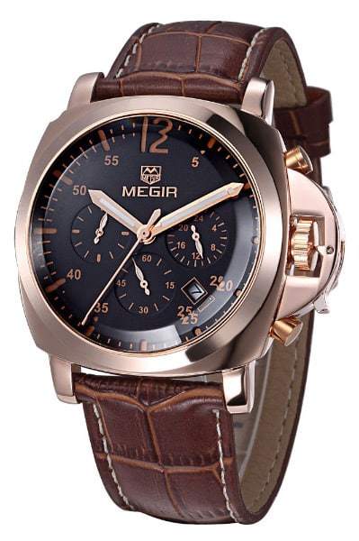 Megir Men's Quartz-Watch часы