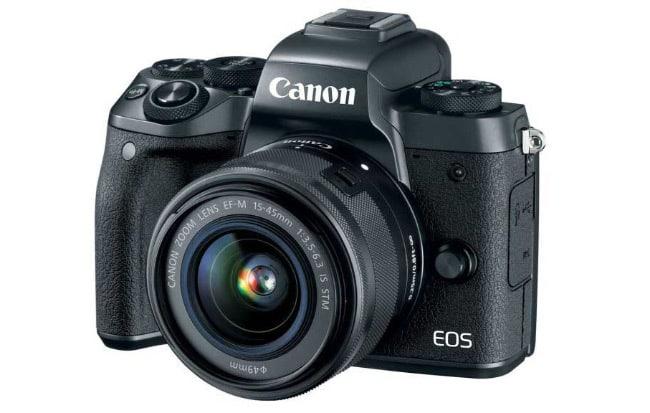 Canon EOS M5 фотоаппарат