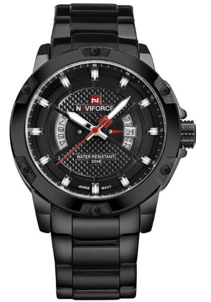 Naviforce Mens Watches Top Brand Luxury Sport Quartz Watch 3ATM Waterproof часы