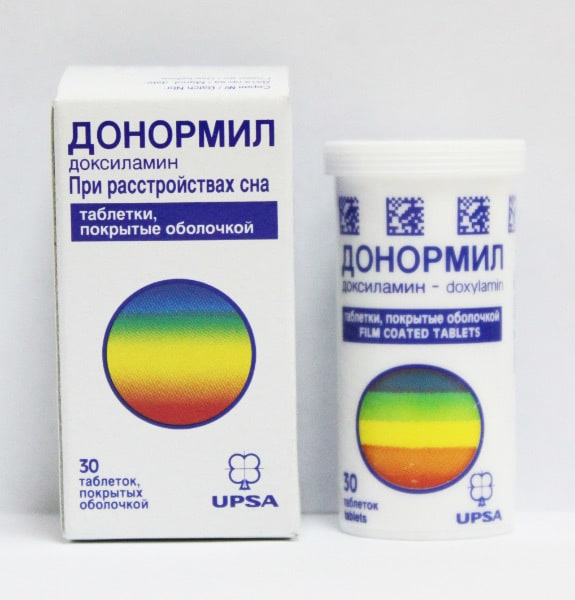 От бессонницы таблетки донормил цена