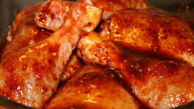 бедрышки с медом и острым перцем