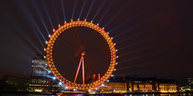 Лондонский глаз колесо