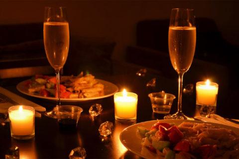 Романтический ужин на двоих