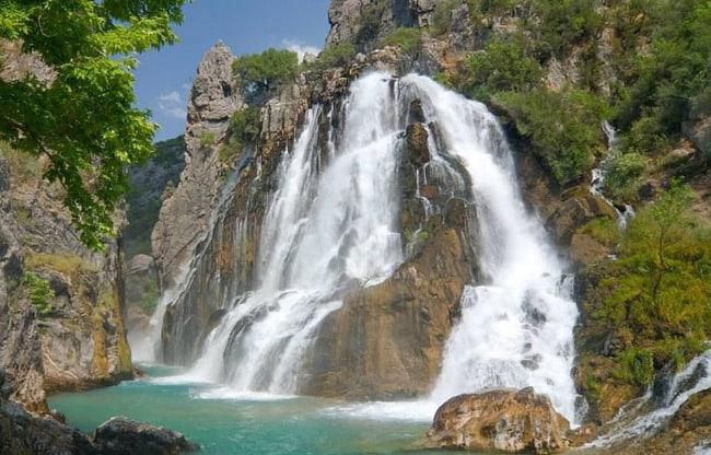 водопад Гюней