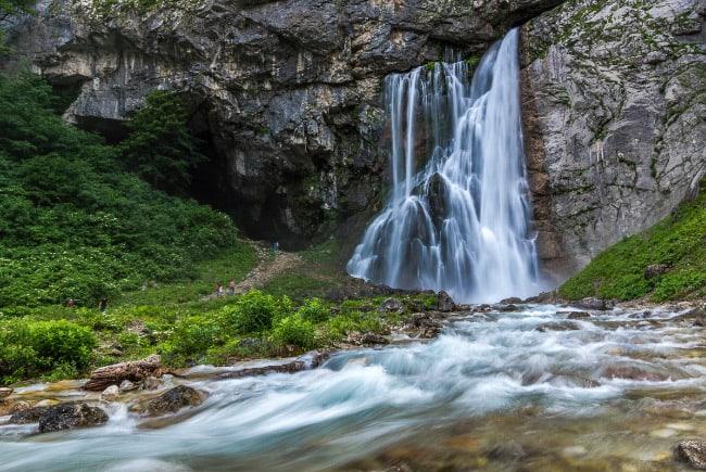 Гекский водопад