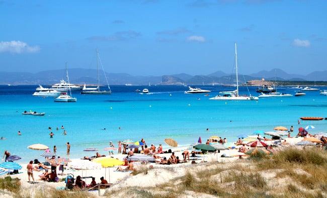 Пляжи Форментеры