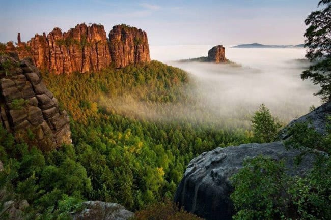 Ельбские горы Песчаников