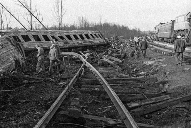 Железнодорожная катастрофа под Уфой