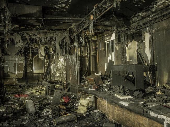 Пожар в клубе Хромая лошадь