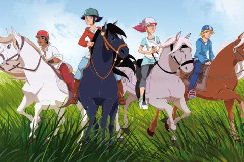 Топ 10 Самые лучшие мультфильмы про лошадей