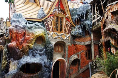 Топ 10 самые необычные дома мира