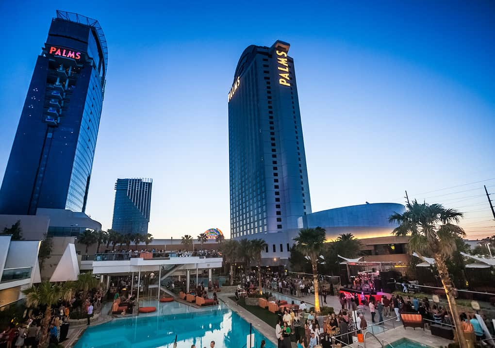palms casino resort construction